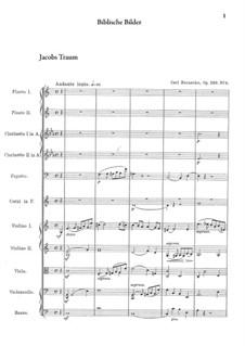 Biblische Bilder, Op.220: Nr.4 Jacobs Traum by Carl Reinecke