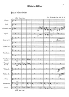 Biblische Bilder, Op.220: Nr.5 Juda Maccabäus by Carl Reinecke