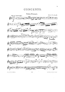 Concerto for Violin and Orchestra No.2, Op.16: Arrangement for vioin and piano – solo part by Hubert Ries