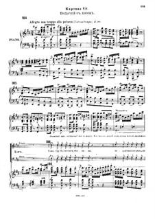 Christmas Eve. Opera: Act III, Scene VII by Nikolai Rimsky-Korsakov