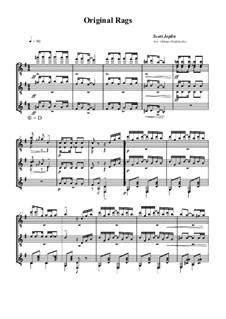 Original Rags: For guitar by Scott Joplin