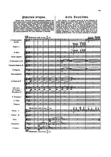 The Golden Cockerel. Opera: Act II by Nikolai Rimsky-Korsakov