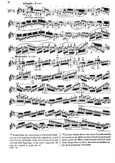 Twenty-Four Caprices for Violin: Caprices No.6-10 by Pierre Rode
