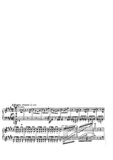 Overture: Allegro vivace, for piano by F. Liszt by Gioacchino Rossini