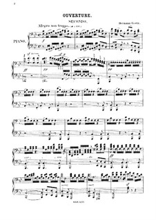 The Taming of the Shrew: For piano four hands by Hermann Goetz