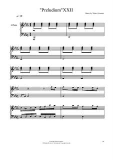 Прелюдия и фуга No.22: Прелюдия и фуга No.22 by Viktor Gryaznov