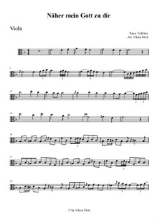 Nearer My God To Thee: For viola by folklore