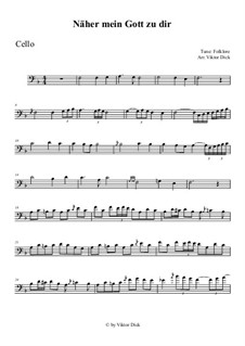 Nearer My God To Thee: For cello by folklore