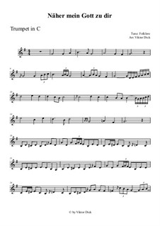 Nearer My God To Thee: For trumpet in C by folklore