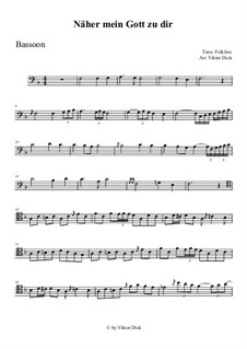Nearer My God To Thee: For bassoon by folklore