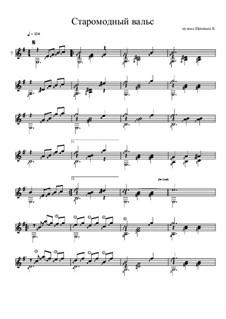 Старомодный вальс: Старомодный вальс by Konstantin Schenitsyn
