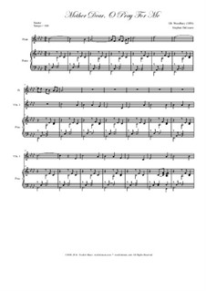 Mother Dear, o Pray for Me: For string quintet by Isaac Baker Woodbury