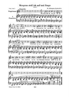 Circle of Songs, Op.24: Complete set by Robert Schumann