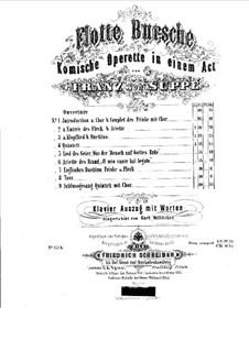 Merry Fellows: Piano-vocal score by Franz von Suppé