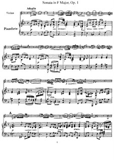 Twelve Sonatas and Pastorales for Violin and Harpsichord, Op.1: Sonata No.12. Version for violin and piano, solo part by Giuseppe Tartini