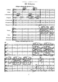 Symphony No.1 in G Minor 'Winter Daydreams', TH 24 Op.13: Movement III by Pyotr Tchaikovsky