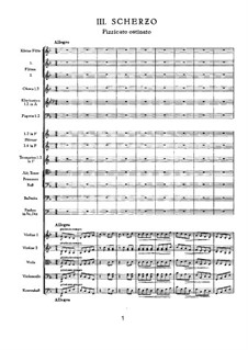 Symphony No.4 in F Minor, TH 27 Op.36: Movement III by Pyotr Tchaikovsky
