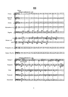 Movement III: Full score by Pyotr Tchaikovsky