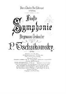 Complete Movements: For two pianos eight hands – piano II part by Pyotr Tchaikovsky