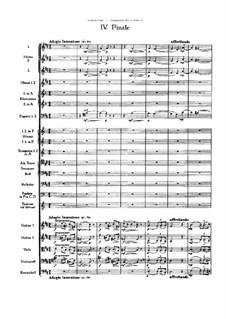 Movement IV: Full score by Pyotr Tchaikovsky