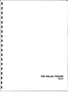 Hallel Psalms (Instrumental Parts Only): Hallel Psalms (Instrumental Parts Only) by Bonia Shur