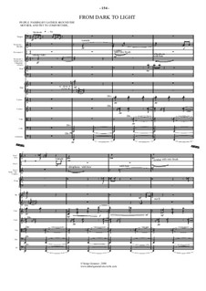 Little Match Girl – ballet: Movement 4. Dark to light  – score, parts by Sonja Grossner