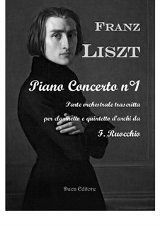 Piano Concerto No.1, S.124: Version for clarinet and string quintet by Franz Liszt