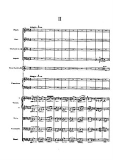 Piano Concerto in A Minor, Op.16: Movement II by Edvard Grieg