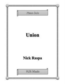 Union: For piano by Nick Raspa