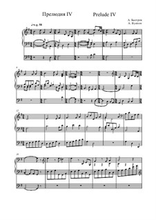 Prelude IV: Prelude IV by Alexander Bystrov