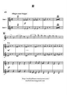 Simphony in D Minor, Op.48: Cornet part by César Franck