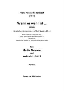 Wenn es wahr ist ... (2016): Wenn es wahr ist ... (2016) by Franz Ferdinand Kaern