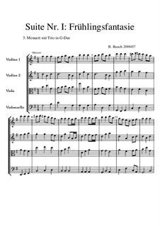 Suite Nr.1: 5 Menuett+Trio by Bernhard Bauch
