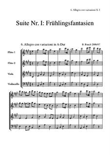 Suite Nr.1: 6 Allegro by Bernhard Bauch