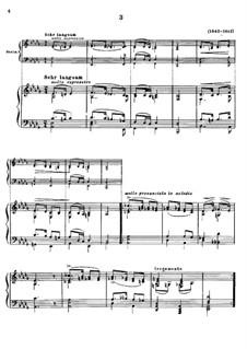 Magyar Dalok (Hungarian National Melodies), S.242: No.3 in D Flat Major by Franz Liszt