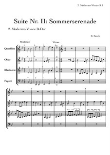 Suite Nr.2: 2 Moderato Vivace by Bernhard Bauch