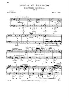 No.2 in C Sharp Minor, S.244: For piano by Franz Liszt