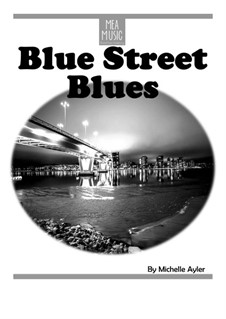 Blue Street Blues (Advanced Piano Solo): Blue Street Blues (Advanced Piano Solo) by MEA Music