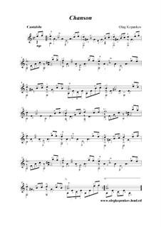 Chanson, Op.3: Chanson by Oleg Kopenkov