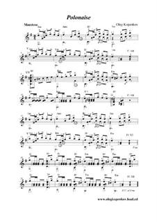 Polonaise, Op.2: Polonaise by Oleg Kopenkov