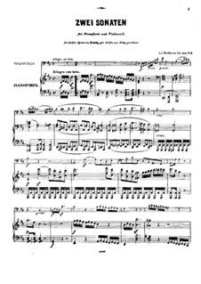 Sonata No. 5 D Major Op.102 No. 2 - Score