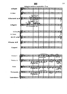 Movement III: Full score by Ludwig van Beethoven