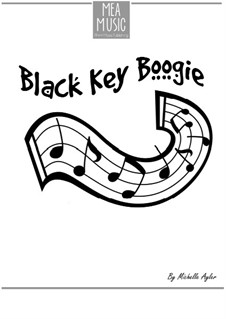 Black Key Boogie (Beginning Piano Solo): Black Key Boogie (Beginning Piano Solo) by MEA Music