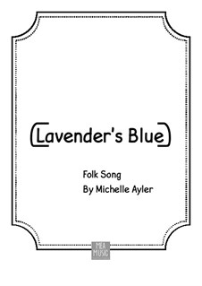 Lavender Blue: For piano by folklore