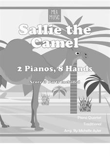 Sally the Camel (Beginning Piano Quartet): Sally the Camel (Beginning Piano Quartet) by folklore