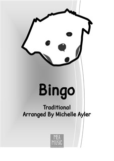 Bingo: With letters by MEA Music
