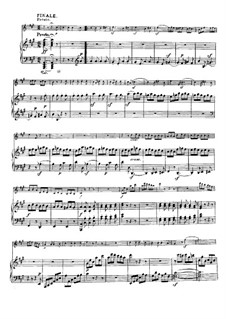 Sonata for Violin and Piano No.9 'Kreutzer', Op.47: Movement III by Ludwig van Beethoven