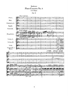 Fragments: Movement I by Ludwig van Beethoven
