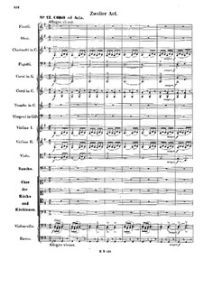 Die Hochzeit des Camacho (Camacho's Wedding), Op.10: Act II, No.12-14 by Felix Mendelssohn-Bartholdy