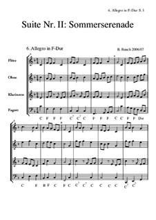 Suite Nr.2: 6 Allegro F-Dur by Bernhard Bauch